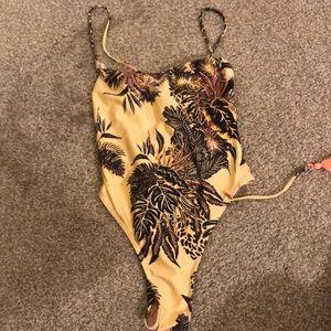 Minkpink one piece cheeky swim suit